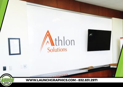 Launch Graphics Houston Athlon-Acrylic-Sign