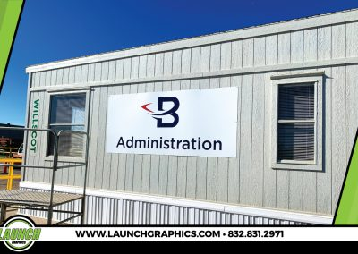 Launch Graphics Houston Boomerang-Building-Sign