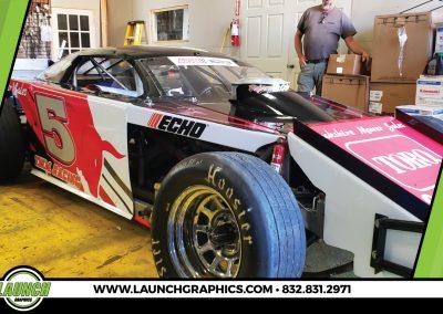 Launch Graphics Wraps Houston  Brookshire-Racecar-2