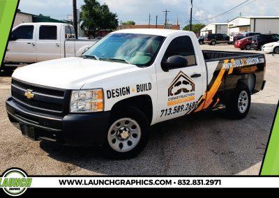 Launch Graphics Wraps Houston  Construction-Concepts