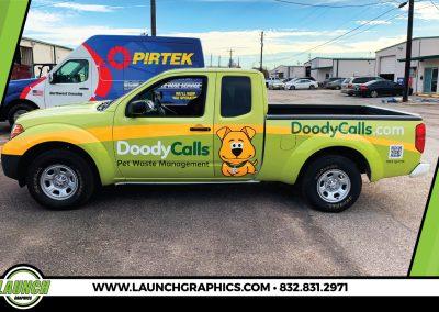 Launch Graphics Wraps Houston  Doody-Calls-Truck-2