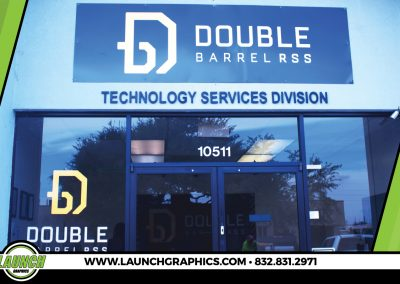 Launch Graphics Houston Double-Barrel-RSS-Exterior-Signs