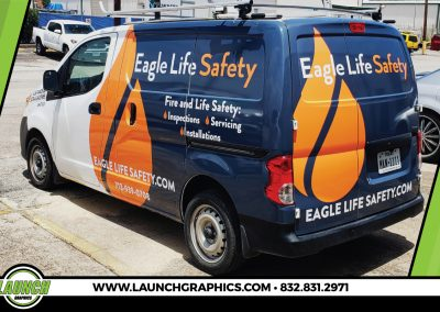 Launch Graphics Wraps Houston Eagle-Life-Van-Small2