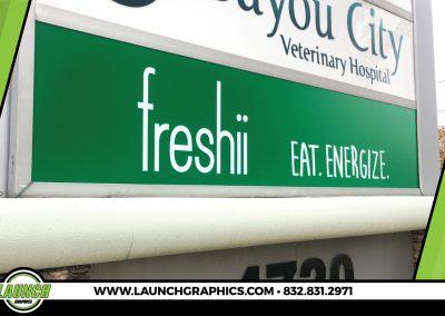 Launch Graphics Houston Freshi-Sign