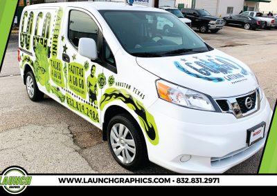 Launch Graphics Wraps Houston  Go-Go-Tacos-Van