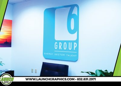 Launch Graphics Houston Group-6-Wall-Sign