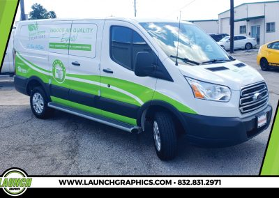 Launch Graphics Wraps Houston  Green-Home-Solutions-Van-Wrap-2