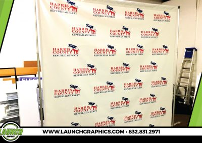 Launch Graphics Houston Harris-County-Republican-Party-Step-and-Repeat