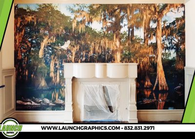 Launch Graphics Houston House-Wall-Decal