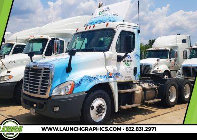 Launch Graphics Wraps Houston  JM-Eagle-Semi