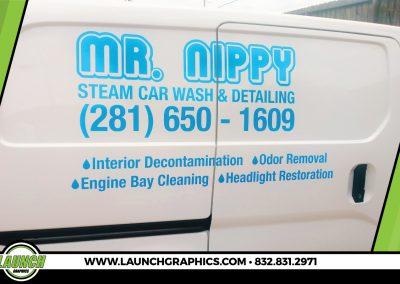 Launch Graphics Wraps Houston  Mr-Nippy-Van