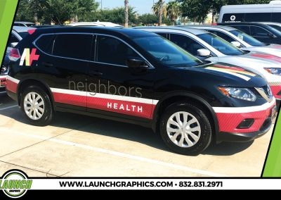 Launch Graphics Wraps Houston  Neighbors-SUV