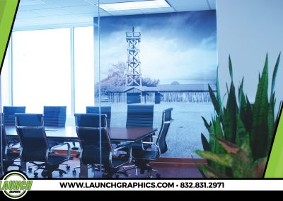 Launch Graphics Houston Trendway-Conference-Wall