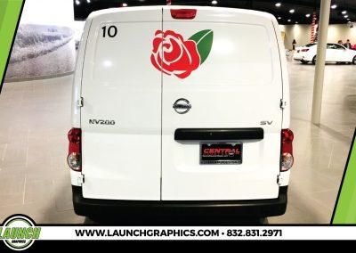 Launch Graphics Wraps Houston  True-Heart-Van