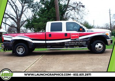 Launch Graphics Wraps Houston  Uretek-Truck