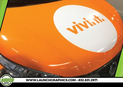 Launch Graphics Wraps Houston  Vivint-Hood