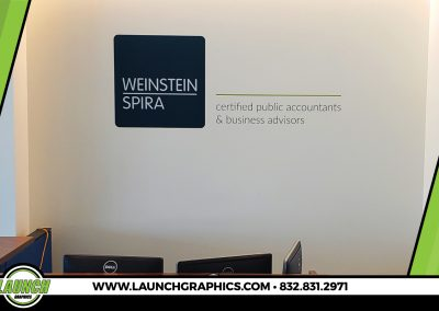 Launch Graphics Houston Weinstein-Spira-Wall-Graphic
