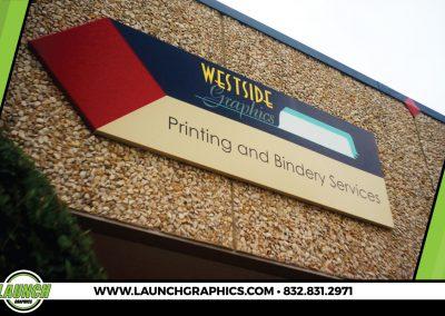 Launch Graphics Houston Westside-Graphics-Building-Sign