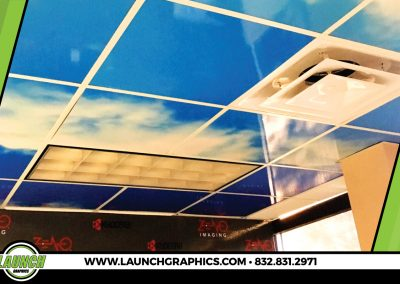 Launch Graphics Houston Zeno-Imaging-Ceiling-Decal